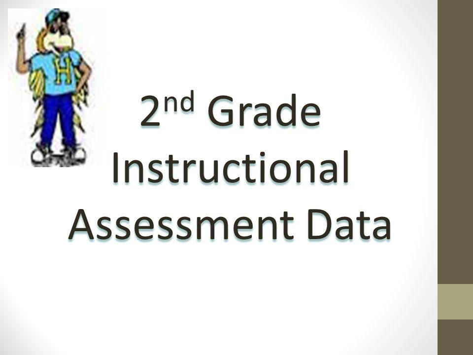 2 nd Grade Instructional Assessment Data