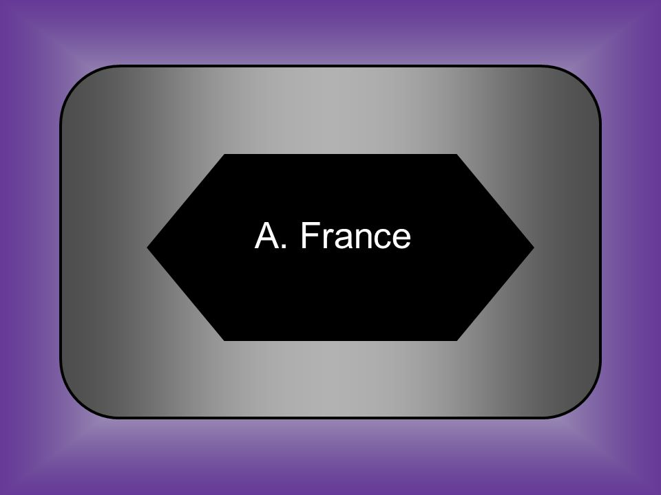 A:B: FranceSpain #15 When there was trouble between France and Spain, the Caddos supported _______.