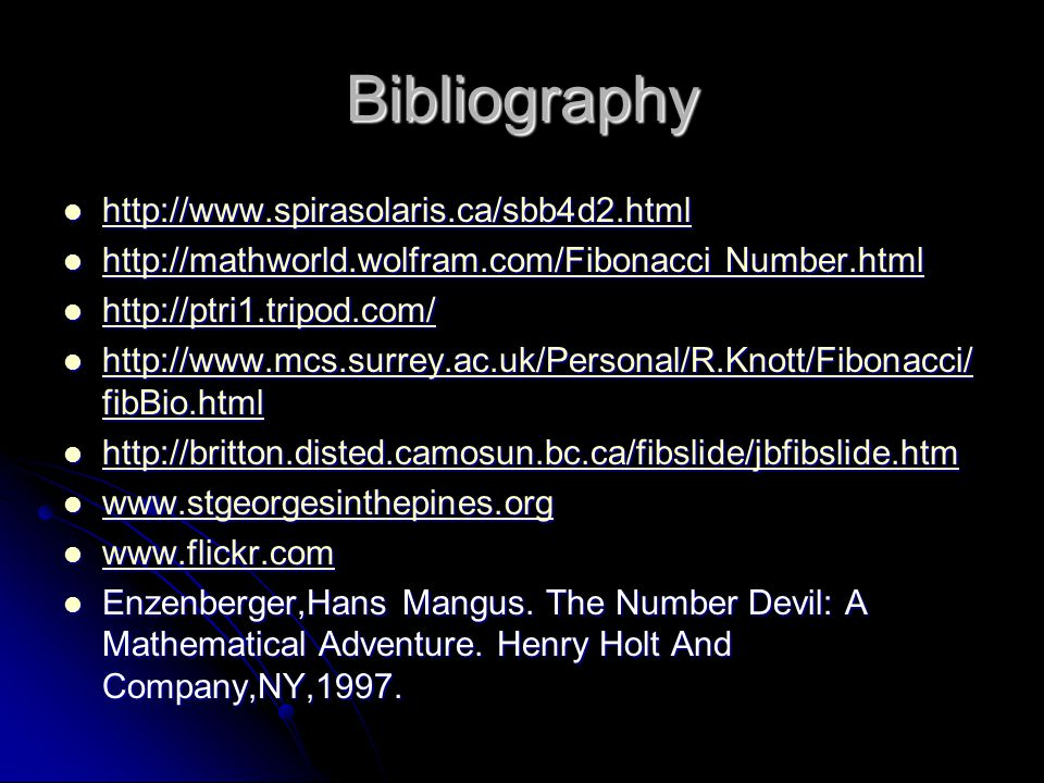 Bibliography h h tttt tttt pppp :::: //// //// wwww wwww wwww....