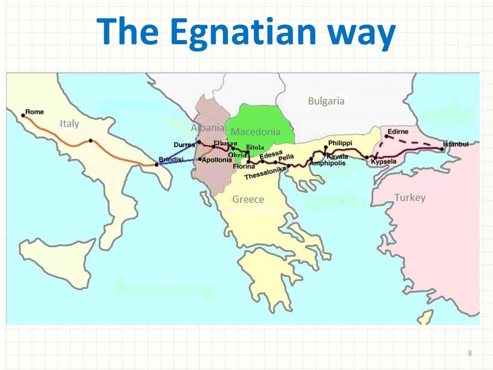 The Egnatian way 8