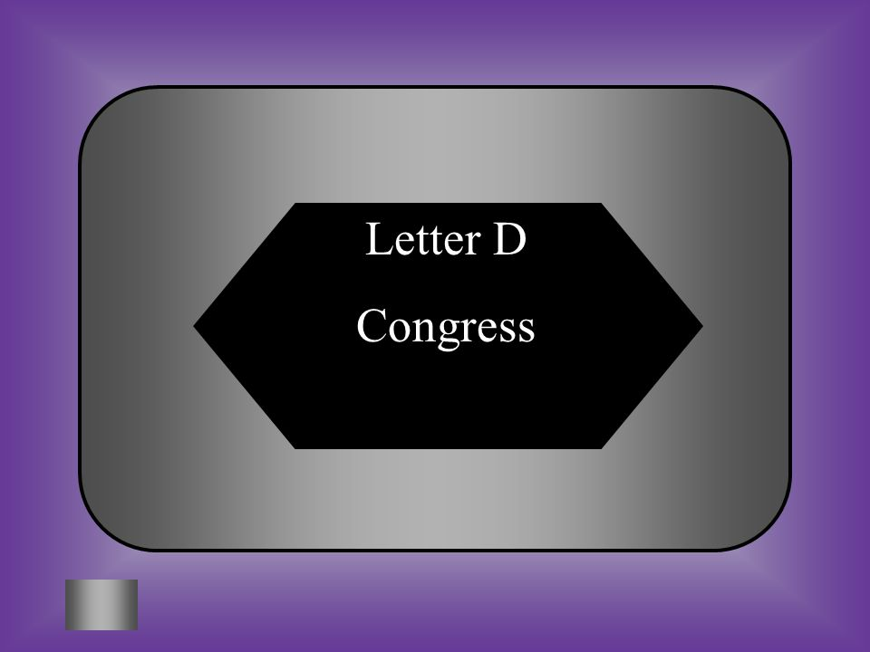 A:B: Law Writing Committee The Supreme Court The Legislative Branch is often referred to as... C:D: ParliamentCongress