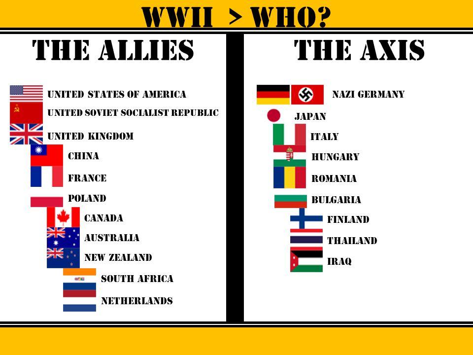 WWII > Who? Adolf hitler