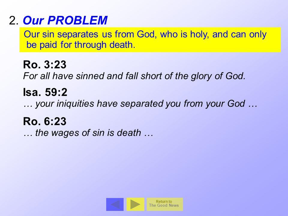 Sinful Man Holy God Death Eternal Life Being Moral Ja.