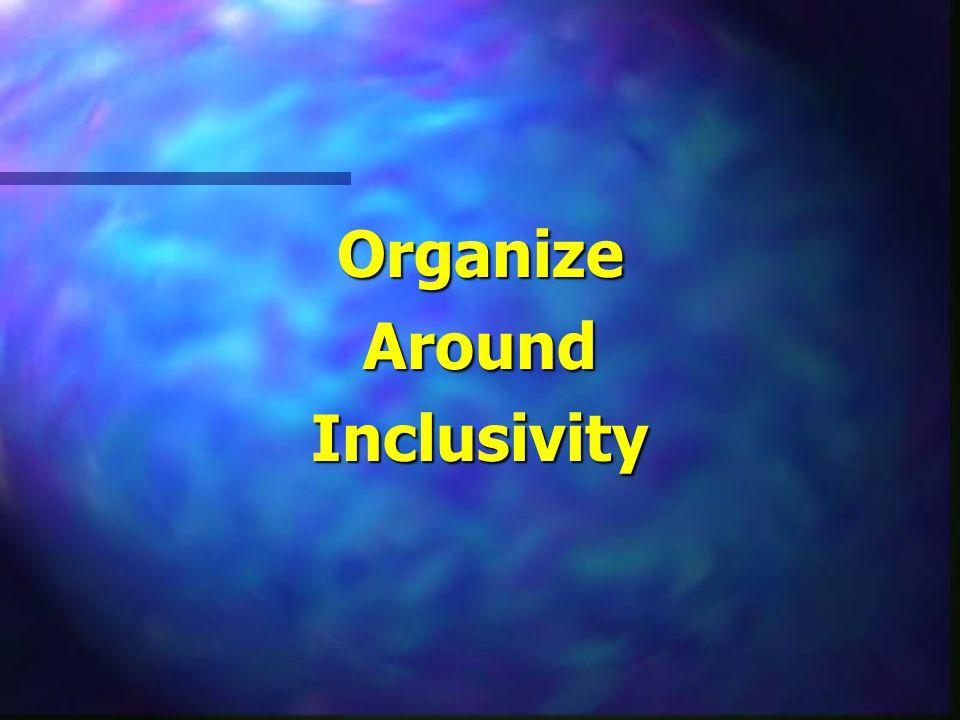 OrganizeAroundInclusivity