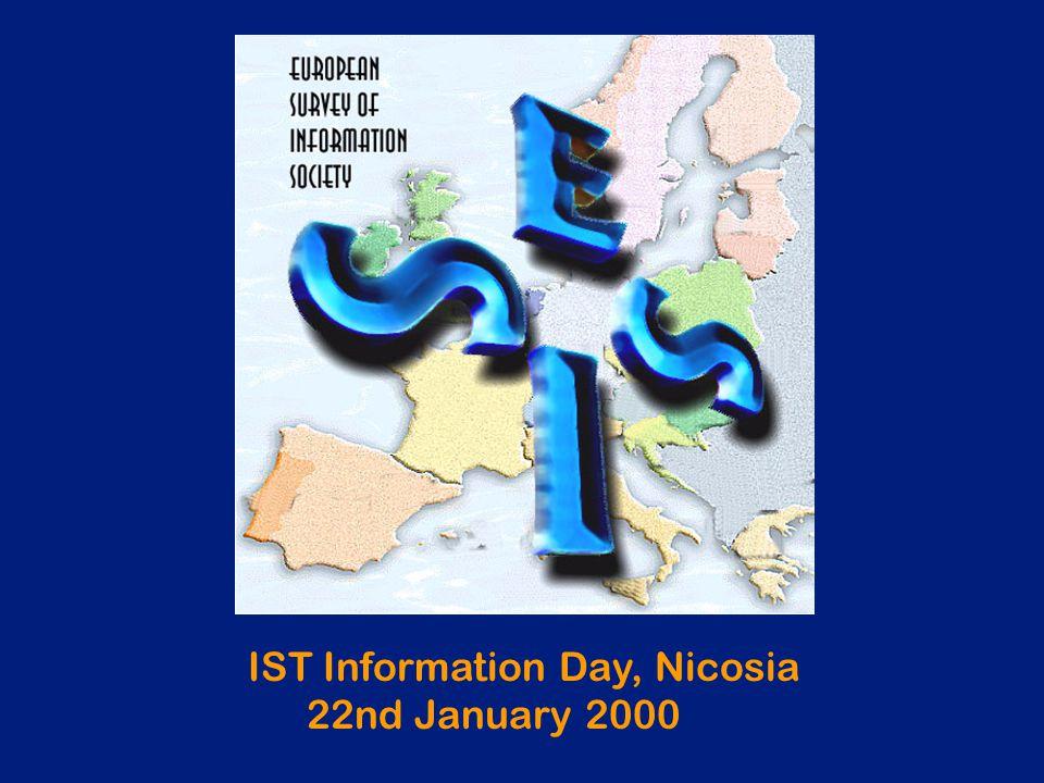 IST Information Day, Nicosia 22nd January 2000