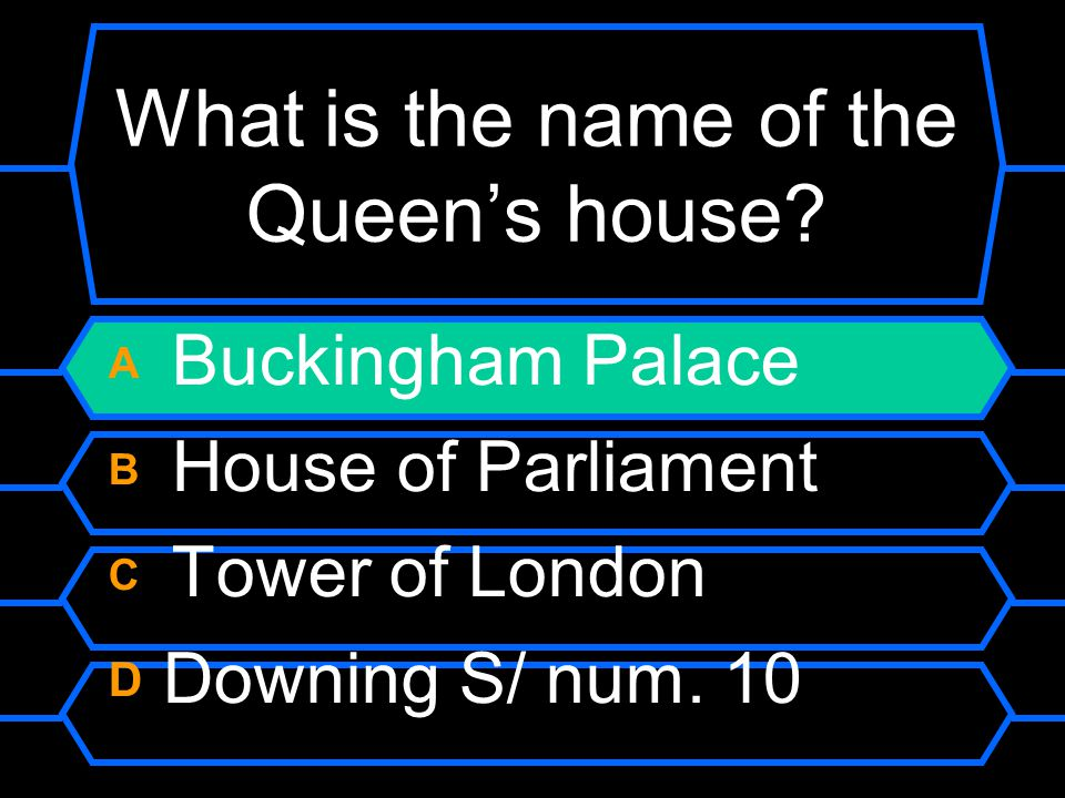 What is the name of the Queen's house.
