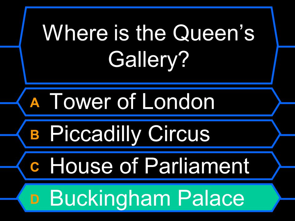 Where is the Queen's Gallery.
