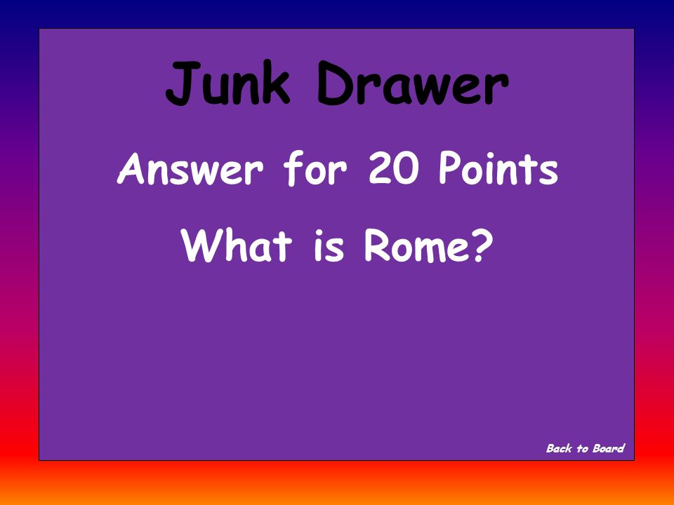 Junk Drawer Question for 20 Points What city/country started near the Apennines Mountains