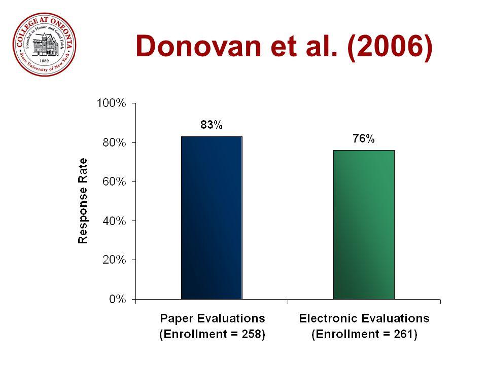 Donovan et al. (2006)