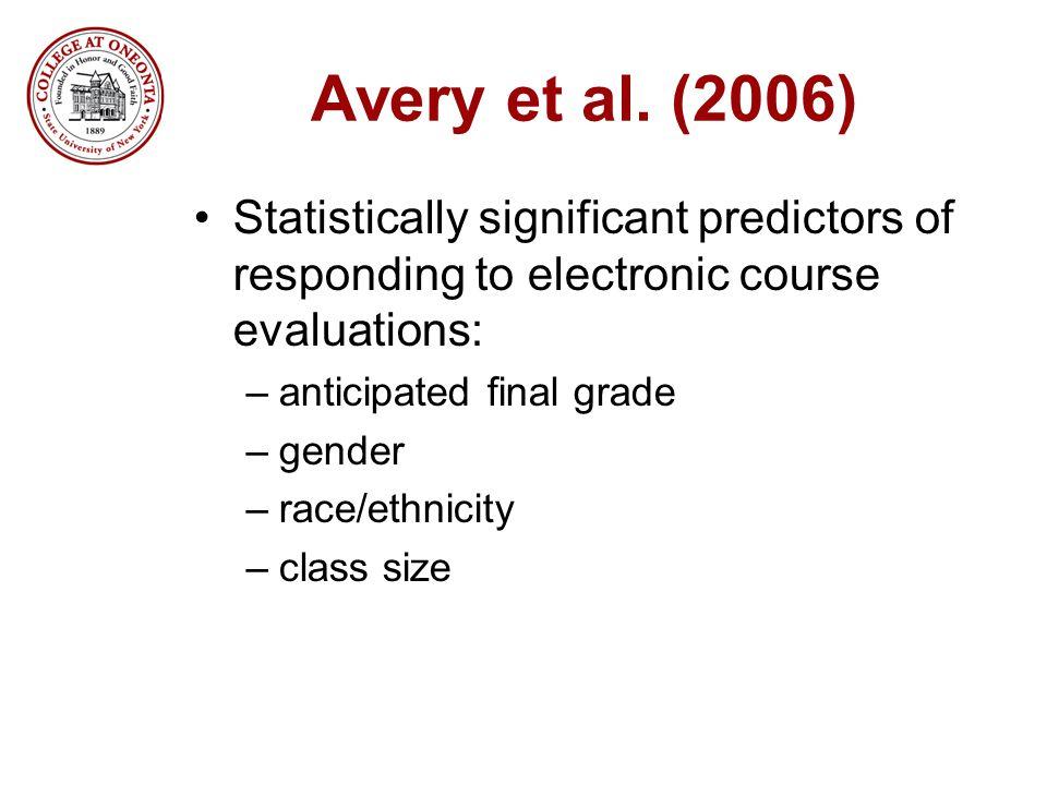 Avery et al.