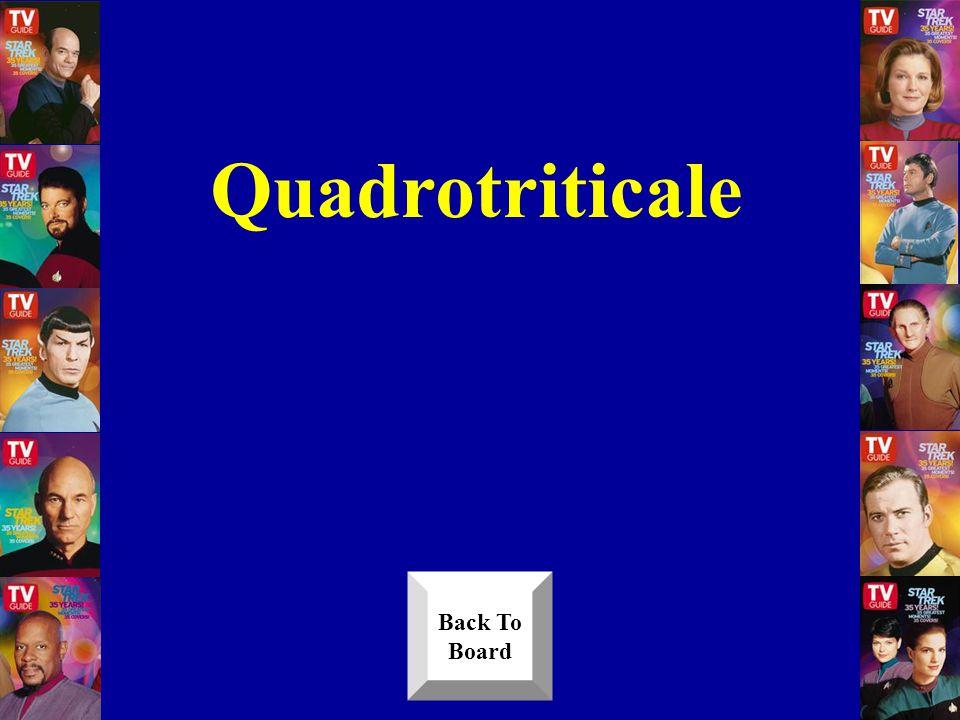 Quadrotriticale Back To Board