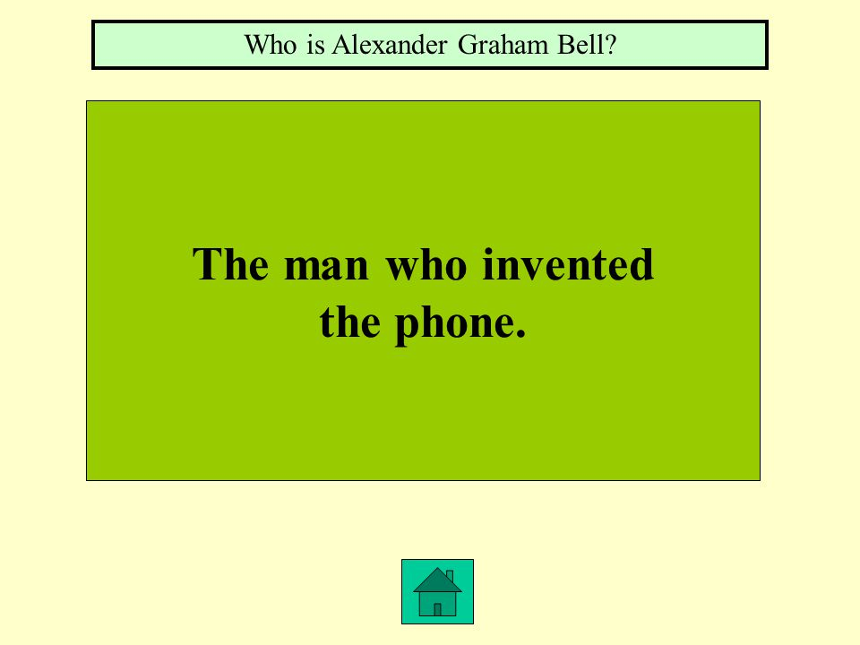The man who invented the phone. Who is Alexander Graham Bell?