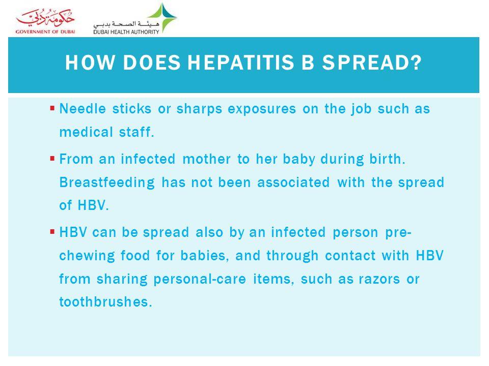  Hepatitis B is very serious.