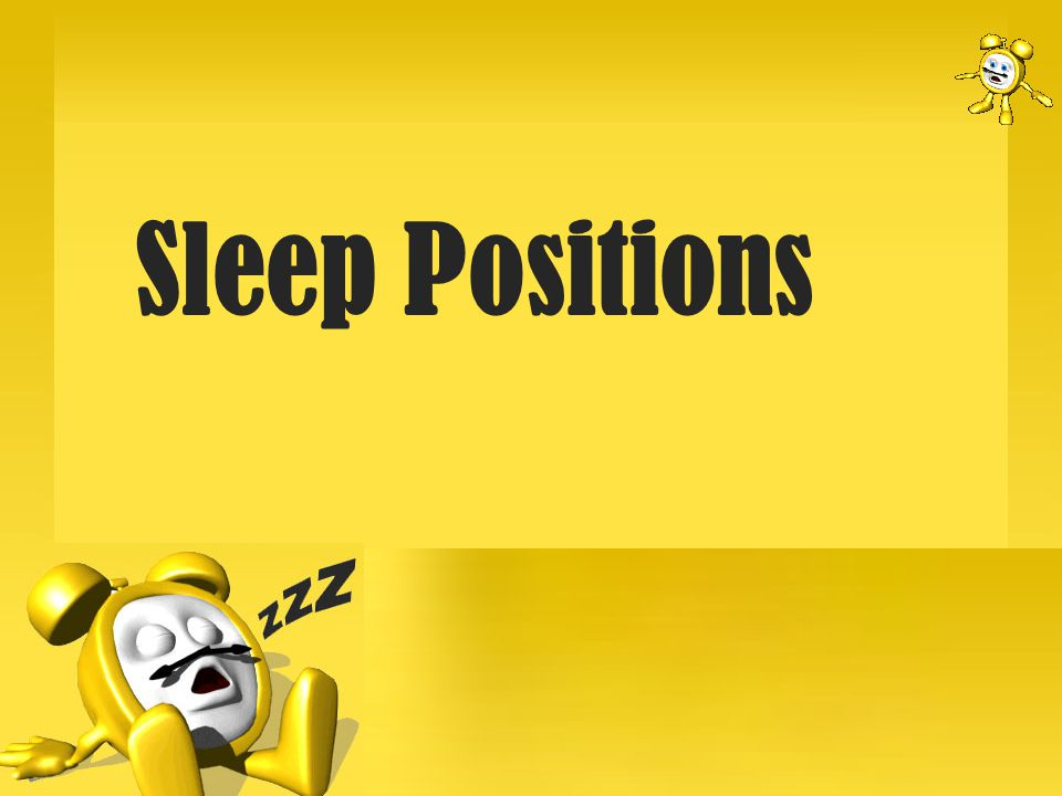 Health related info: If you want a quality night s sleep – this is not the best position choice.