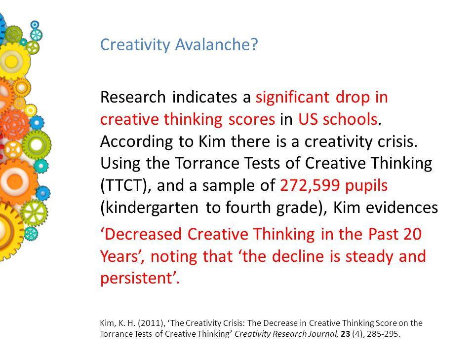 Creativity Avalanche.