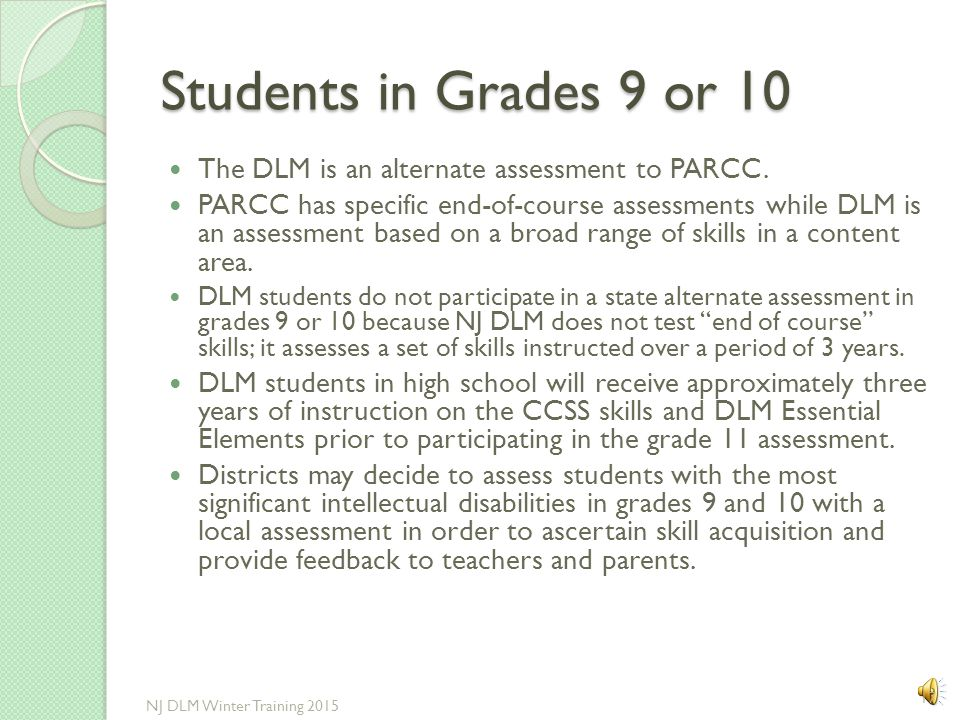 Retained Students in Grades 3-8 If a student was designated to participate in the APA last year, and the individual score report (ISR) stated a Profic