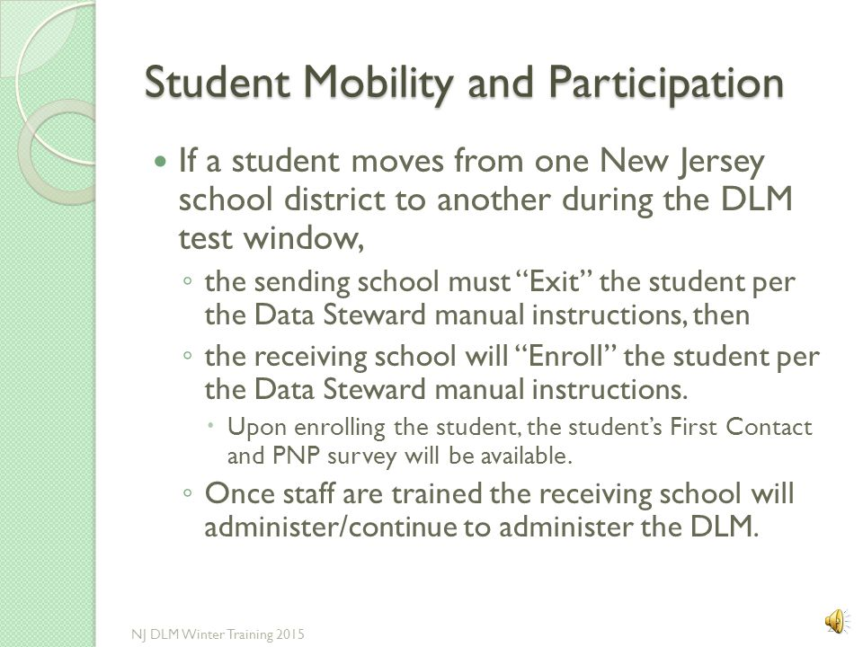 Students Sent Out-of-State When a student's home district is paying tuition for the student to attend a school outside of New Jersey, find out the fol