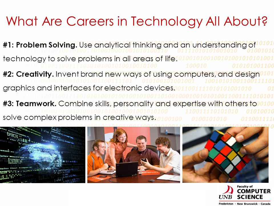 What Are Careers in Technology All About?
