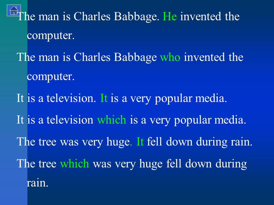The man is Charles Babbage. He invented the computer.