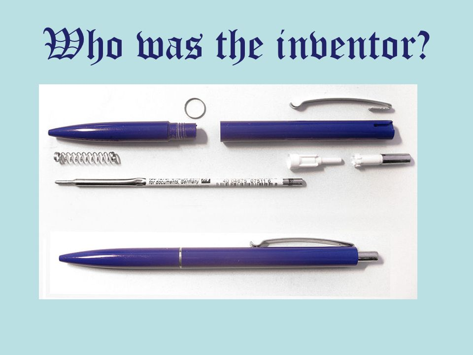 Who was the inventor?