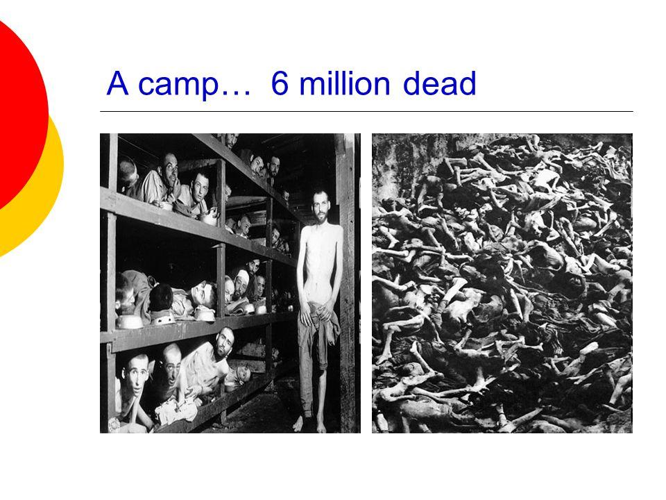 A camp… 6 million dead