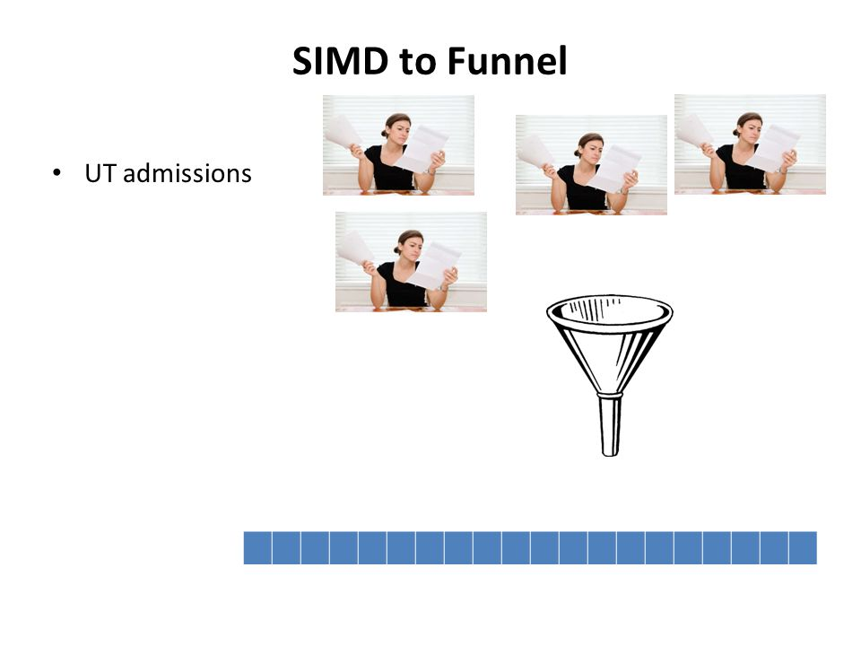 SIMD to Funnel UT admissions