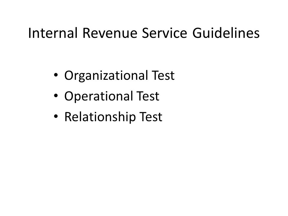 Organizational Test IRS: Organized exclusively for the benefit of, to perform the functions of, or to carry out the purposes of the supported organization FS 1004.70 (a)(2) Organized and operated exclusively to receive, hold, invest and administer property and to make expenditures to, or for the benefit of, a Florida College System institution in this state.