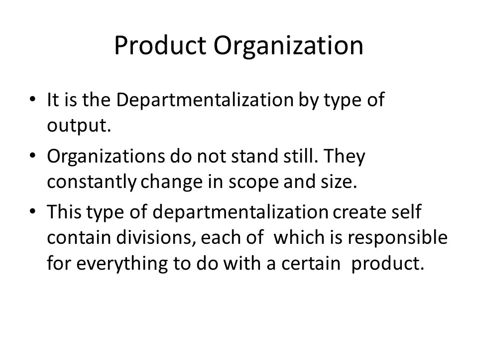 Limitations Functional organizational structures promote separate units to develop their own narrow perspectives at the cost of overall organizational