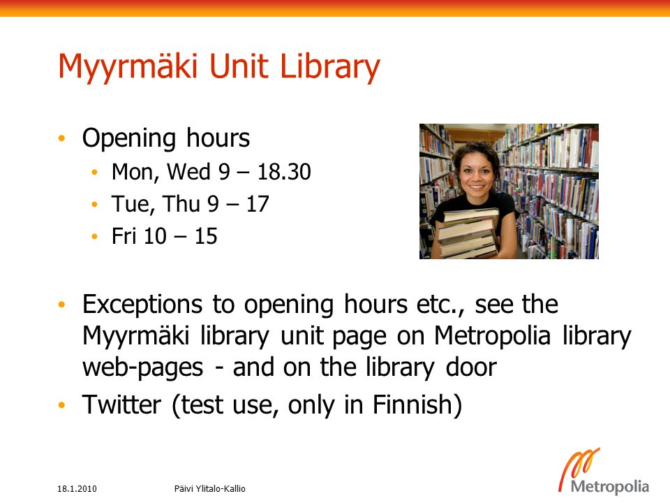 18.1.2010Päivi Ylitalo-Kallio AND: (A and B) marketing AND ethics Boolean search: AND AB