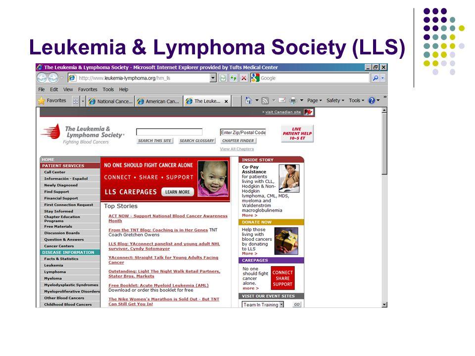 Leukemia & Lymphoma Society (LLS)