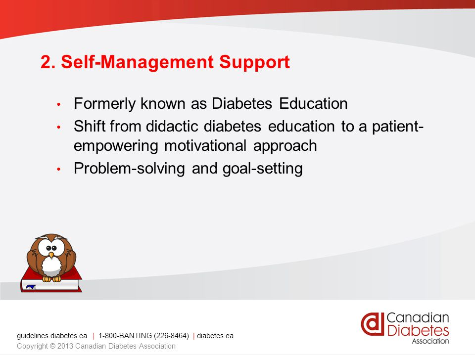 guidelines.diabetes.ca | BANTING ( ) | diabetes.ca Copyright © 2013 Canadian Diabetes Association 2.
