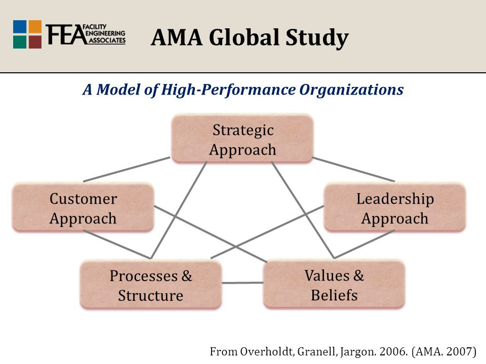 AMA Global Study From Overholdt, Granell, Jargon. 2006.