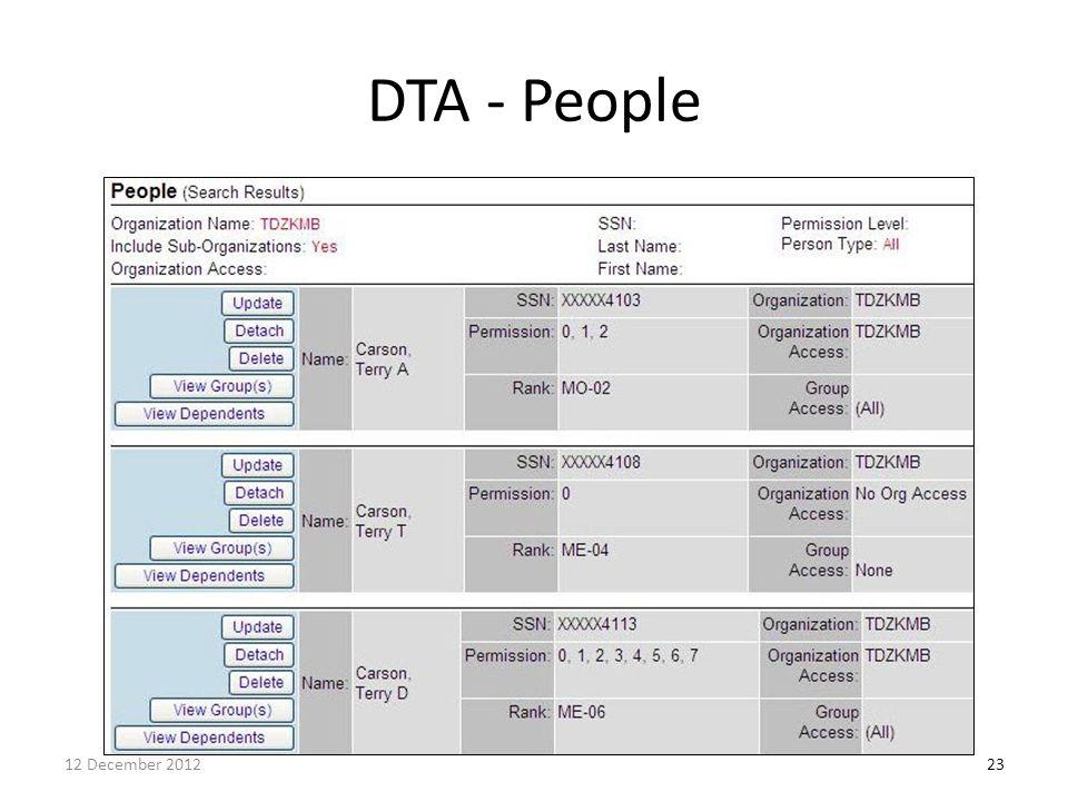 DTA - People 2312 December 2012