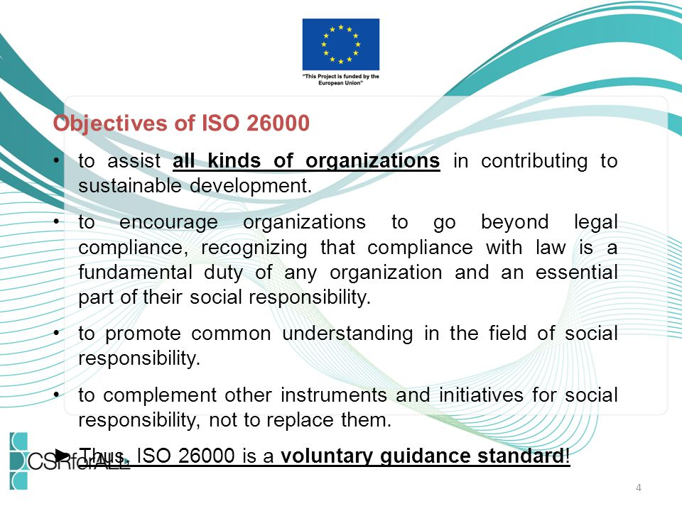15 What are the main weaknesses of ISO 26000.