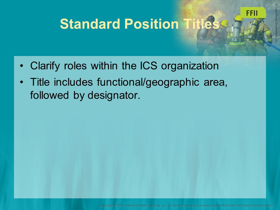 Standard Position Titles