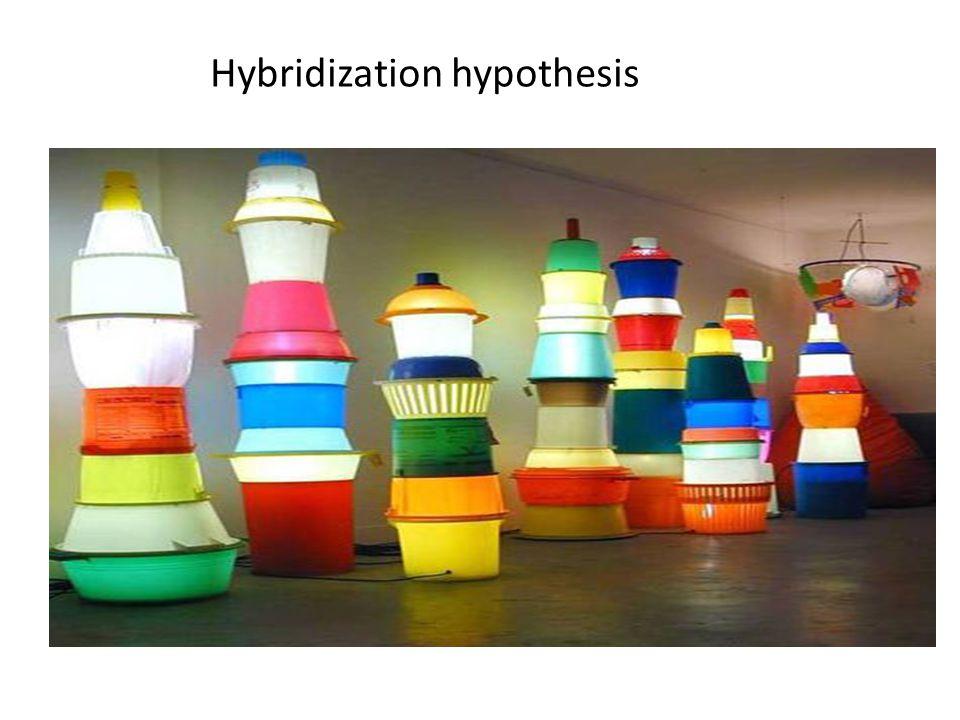 Hybridization hypothesis