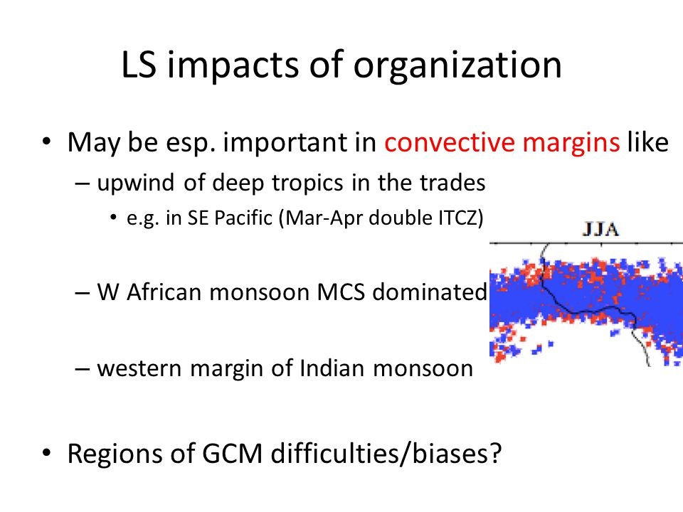 LS impacts of organization May be esp.