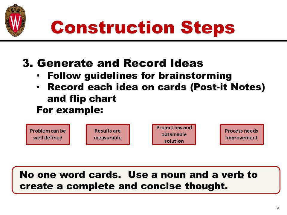9 Construction Steps 3.