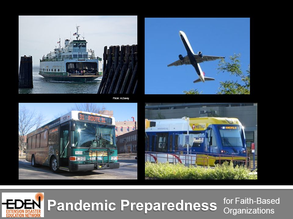 Pandemic Preparedness for Faith-Based Organizations Flickr: A.Davey