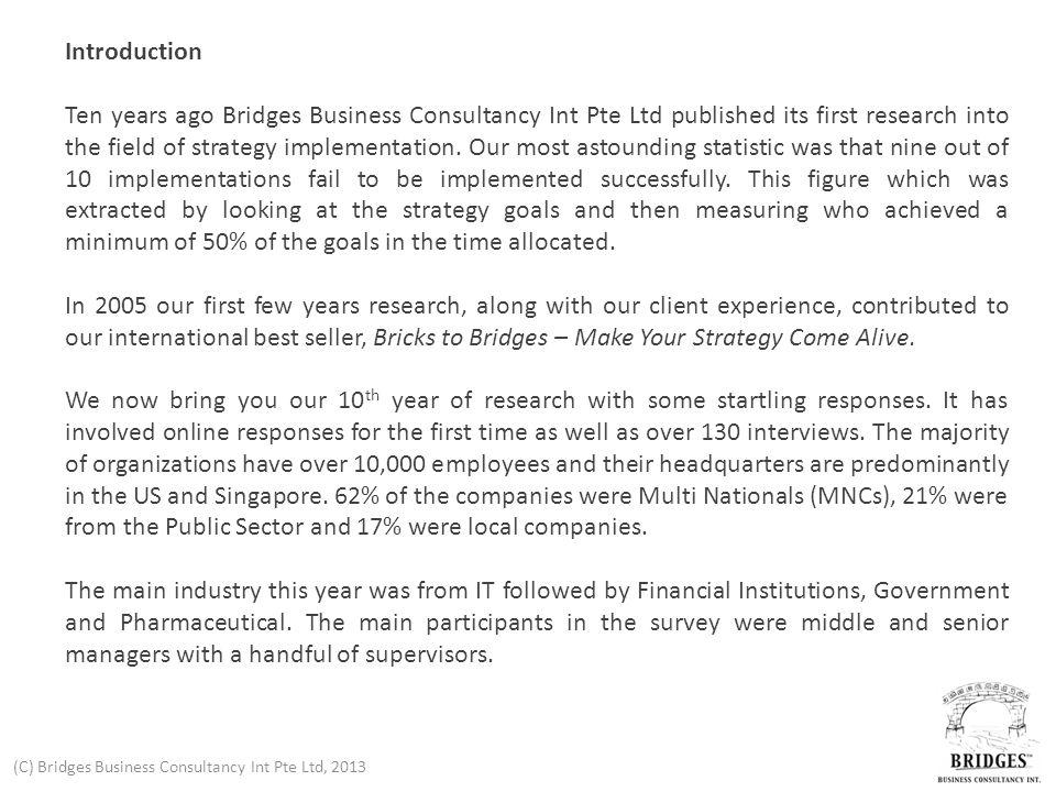 (C) Bridges Business Consultancy Int Pte Ltd, 2013 12.