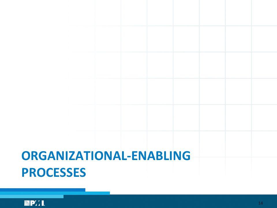 ORGANIZATIONAL-ENABLING PROCESSES 14