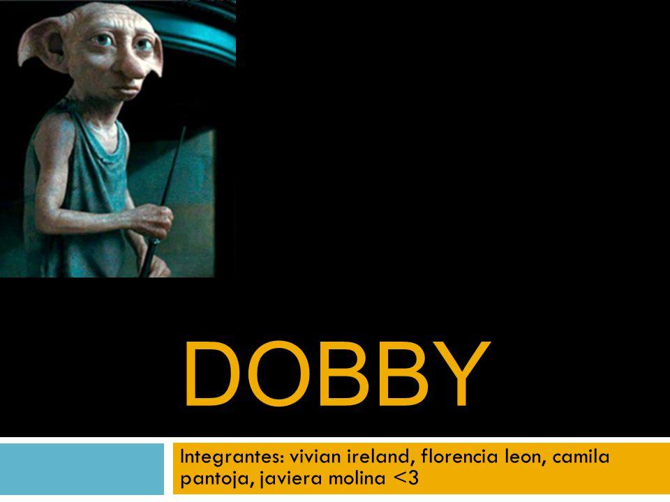 DOBBY Integrantes: vivian ireland, florencia leon, camila pantoja, javiera molina <3