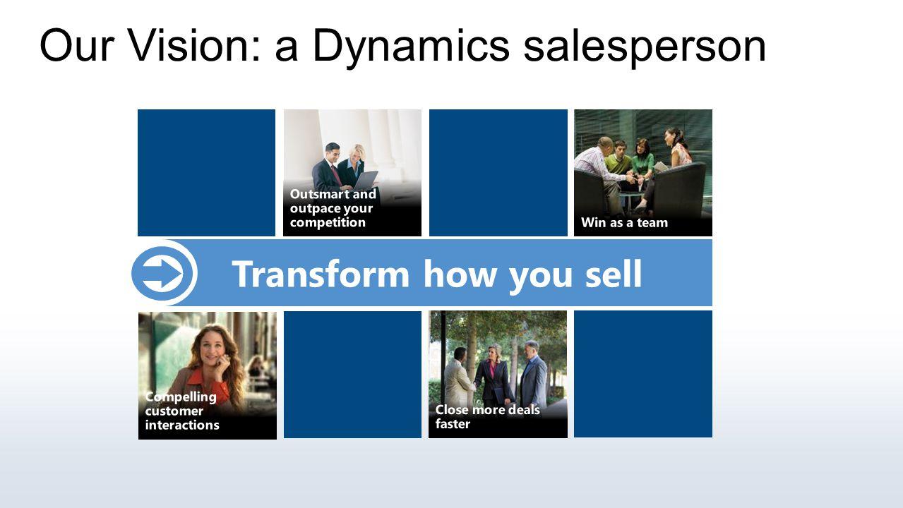 Our Vision: a Dynamic Sales Organization