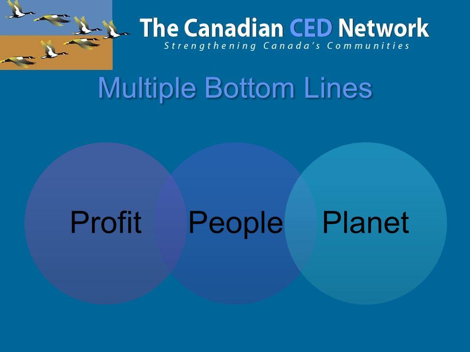 Multiple Bottom Lines ProfitPeoplePlanet