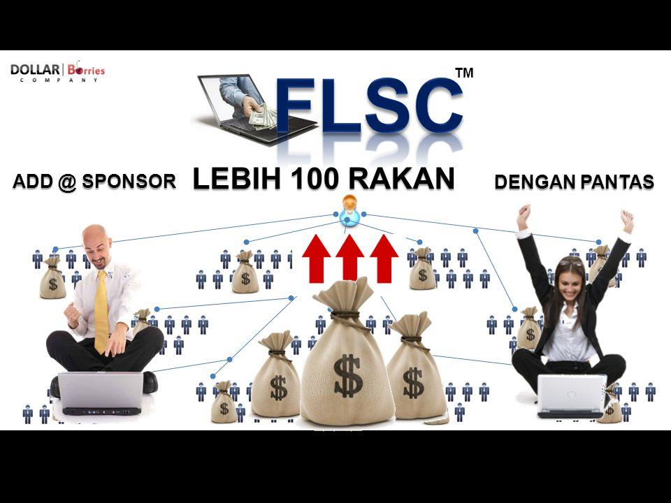 TM ADD @ SPONSOR LEBIH 100 RAKAN DENGAN PANTAS