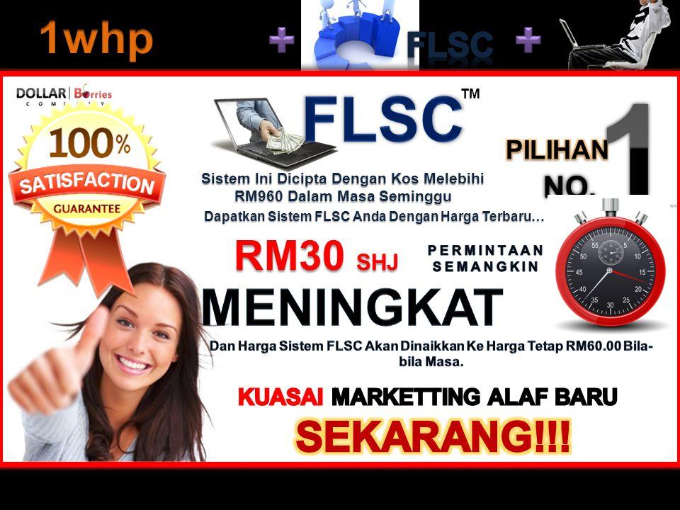 Dapatkan Sistem FLSC Anda Dengan Harga Terbaru… Sistem Ini Dicipta Dengan Kos Melebihi RM960 Dalam Masa Seminggu TM RM30 SHJ