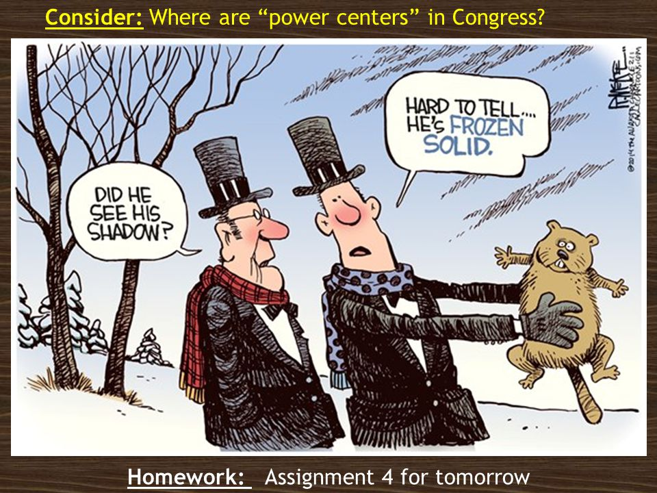 Leadership, Committees and Caucuses Chapter 6 Unit 4: AP Government and Politics Homework for Tuesday: Assignment 4