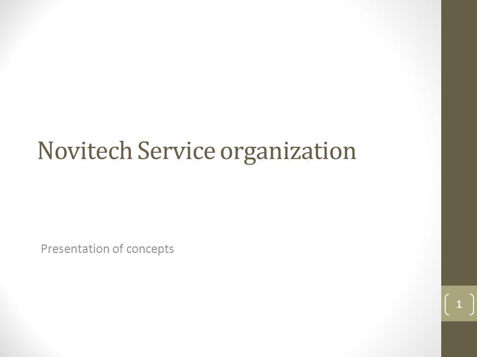 Novitech Service organization Presentation of concepts 1