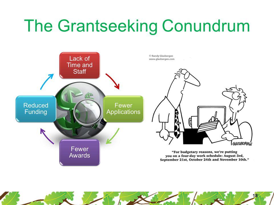 The Grantseeking Conundrum 18