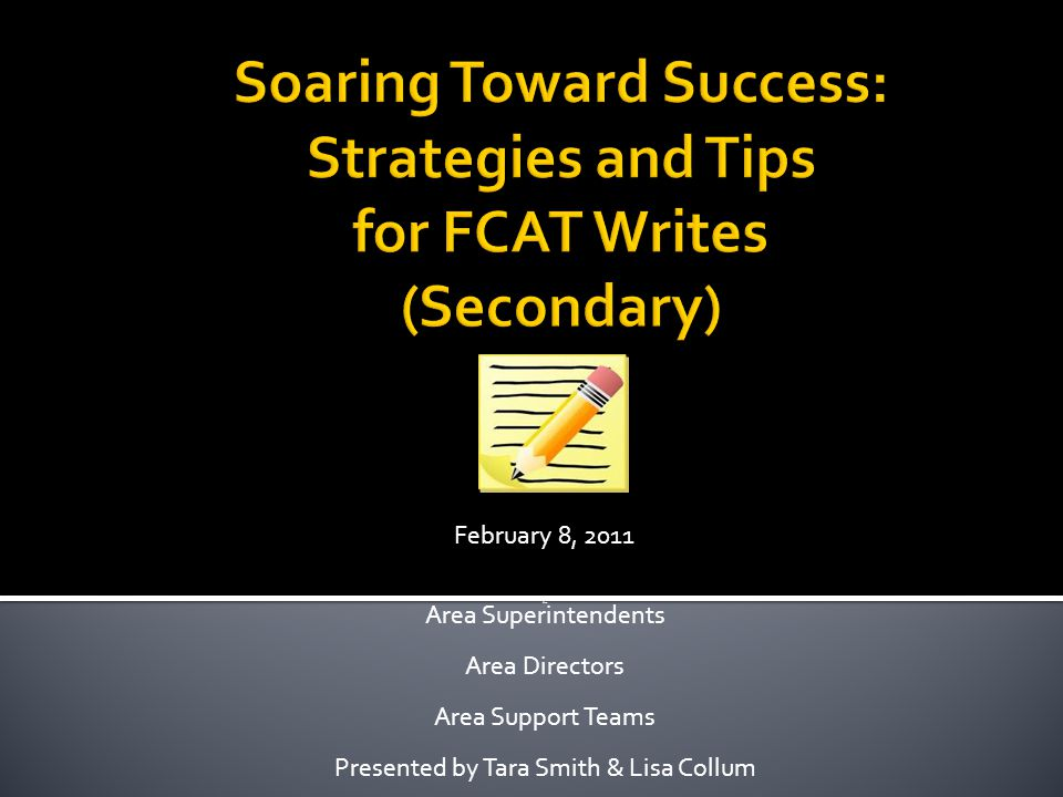 Are Area Superintendents Area Directors Area Support Teams Presented by Tara Smith & Lisa Collum February 8, 2011